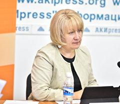 Sputnik Кыргызстан агенттиктик жетекчиси Елена Череменина.