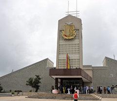 Гвинея мамлекетинин Конакри шаарындагы президенттик сарайы. Архив