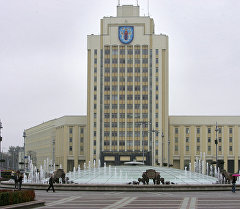 Минск. Площадь Независимости. Архивное фото