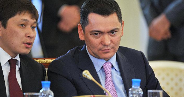 Кыргыз республикасынын экс-премьер-министри Өмүрбек Бабанов. Архив