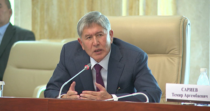 Атамбаев: парламенттик шайлоону таза өткөрсөк, президенттик шайлоодо