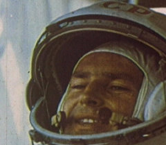 Семнадцать космических зорь Германа Титова. Кадры из архива