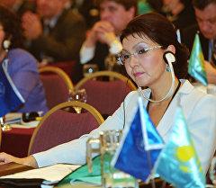 Сенаттын (жогорку палата) депутаты Дарига Назарбаева. Архив