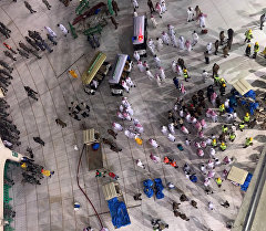 Меккедеги эң ири Аль-Харам мечитинде болгон кырсык.