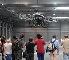 Летающий велосипед (Flying Bike) чешской компании. Архивное фото