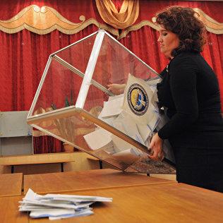 Подведение итогов выборов в Кыргызстане. Архивное фото