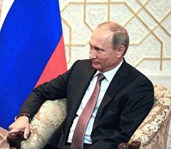 Россия Федерациясынын президенти Владимир Путин. Ари