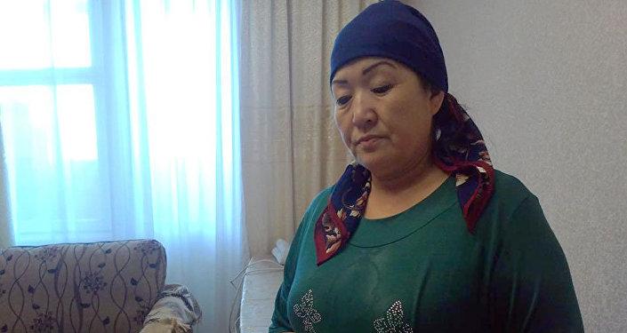 Мать погибшего Исмаева. Архивное фото