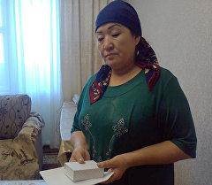 Мать героически погибшего Памира Исмаев. Архивное фото