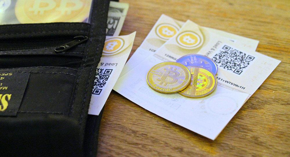 Криптовалюта (биткойн) – цифровая валюта. Архивное фото