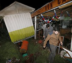 Последствия землетрясение в Чили