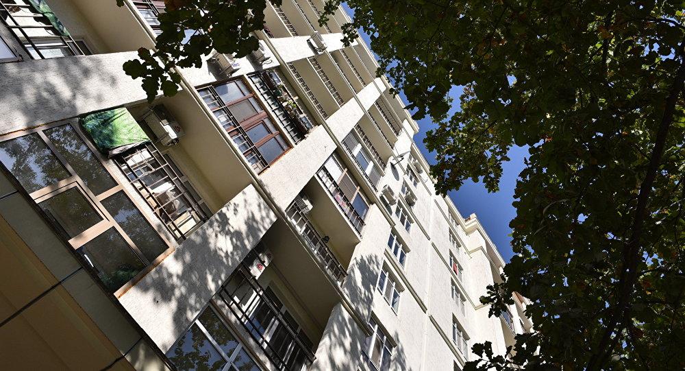 Архивное фото жилого многоэтажного дома