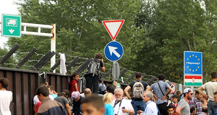 Ситуация на сербско-венгерской границе