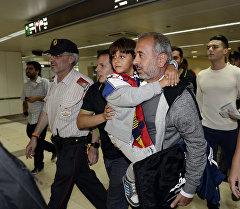 Пострадавший от выходки журналистки беженец Осам Абдул Мохсен. Архивное фото