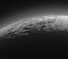 Вид на планету Плутон. Архивное фото