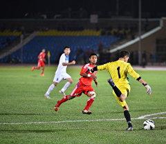 Кыргызстанцы упустили преимущество в два гола, Непал ведет со счетом 2:3