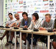 Участники и кураторы кинофестиваля Киношок