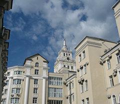 Вид на здания города Воронеж. Архивное фото