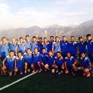 Расширенный состав юношеской сборной Кыргызстана (U-19). Архивное фото