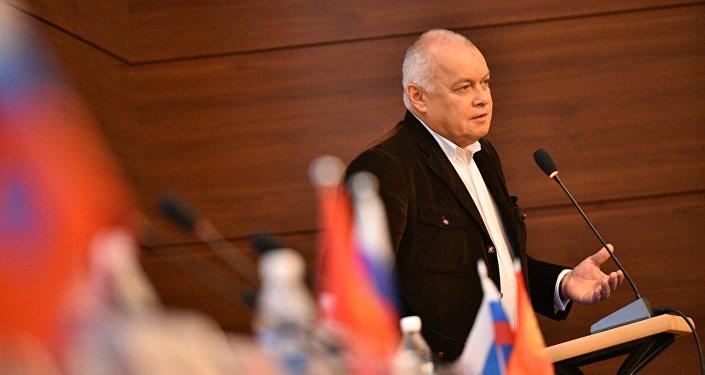 Гендиректор международного информационного агентства Россия сегодня Дмитрий Киселев в Бишкеке