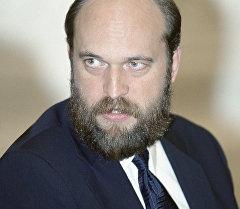 Бывший тувинский чиновник Сергей Пугачев. Архивное фото