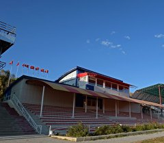 Чолпон-Атадагы ипподром. Архив