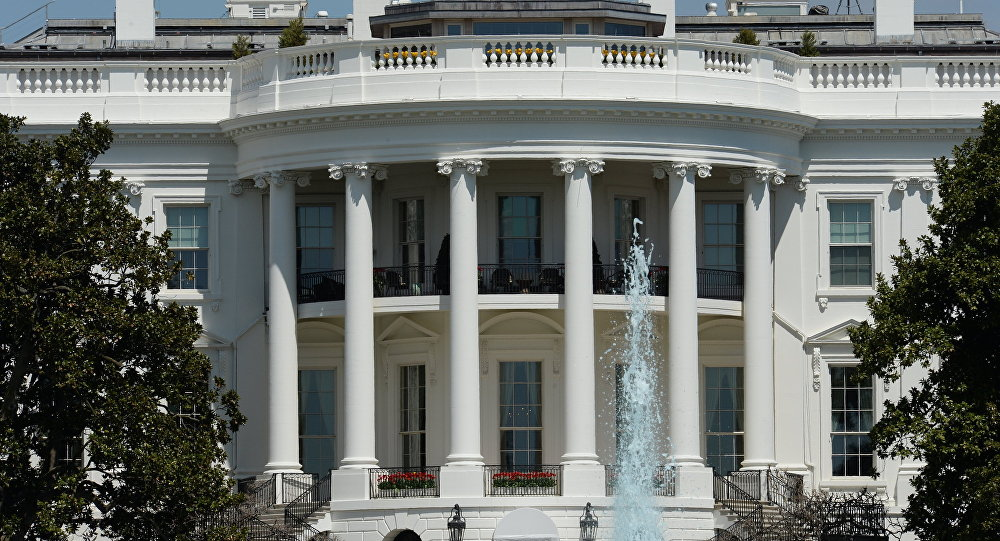 Вашингтондо жайгашкан Ак Үйдун имараты. Архив