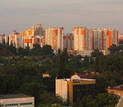 Город Кишинев (Республика Молдова). Архивное фото