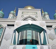 Реконструированная Московская соборная мечеть. Архивное фото