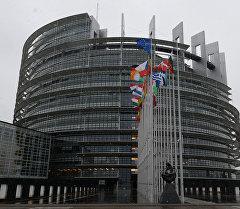 Европарламенттин имараты. Архив