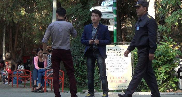 Эксперимент с наркоторговцем, продающим спайс на улице Бишкека