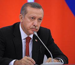 Түркия мамлекетинин президенти Режеп Тайып Эрдоган. Архив