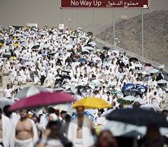 Сауд Аравиясында зыярат учуру. Архив