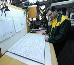 Печать избирательных бюллетеней. Архивное фото