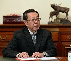 Председатель Государственного комитета национальной безопасности Бусурманкул Табалдиев. Архивное фото