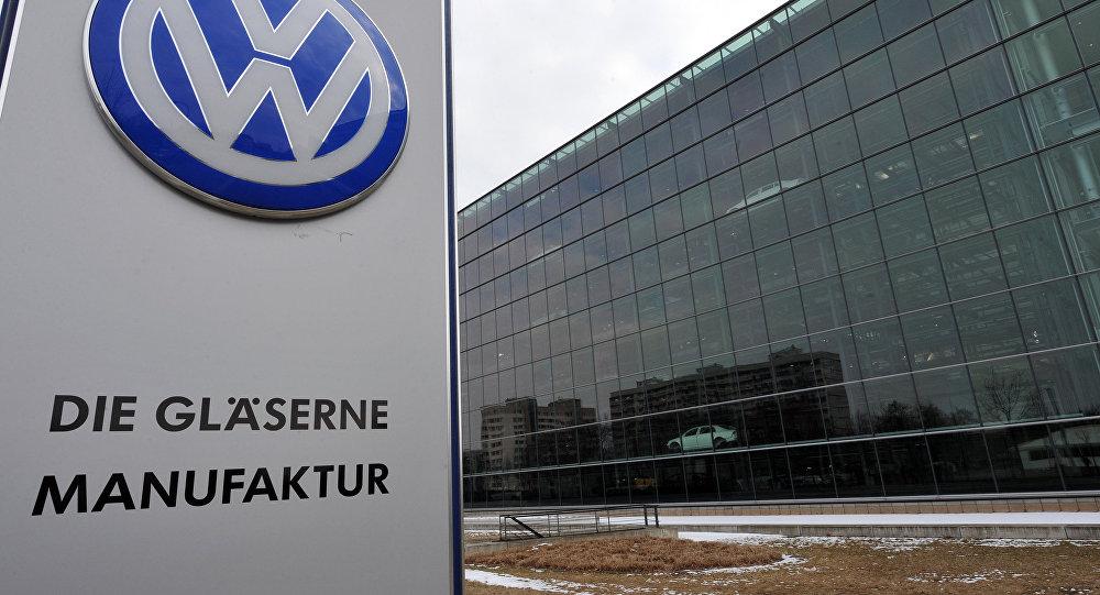 Volkswagen заводу. Архивдик сүрөтү