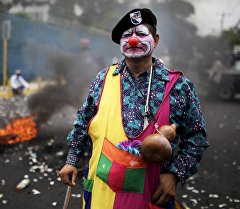 Акции протеста ветеранов гражданской войны в Сальвадоре