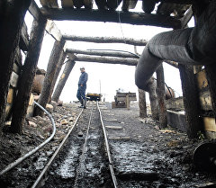 Шахта в Жыргалане. Архивное фото