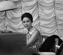 Актриса Таттыбүбү Турсунбаева. Архив