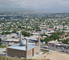Вид на город Ош. Архивное фото