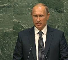 СПУТНИК_LIVE: Выступление Владимира Путина на 70-й сессии Генеральной Ассамблеи ООН