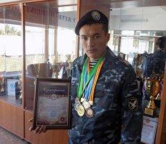Милиционер поедет на чемпионат Азии по тайскому боксу