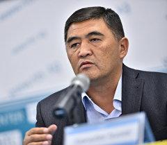 Республика – Ата-Журт партиясынан талапкер Камчыбек Ташиев. Архив