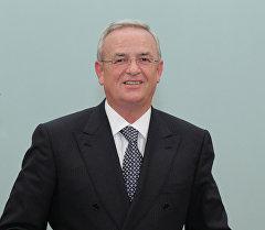 Глава правления Фольксваген Групп Мартин Винтеркорн. Архивное фото