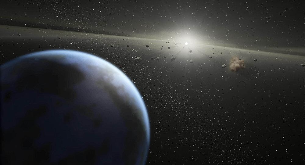 Астероиды. Архивное фото
