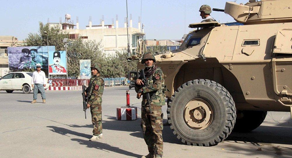 Кундуз шаары, Афганистан. Архив