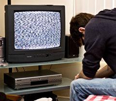 Нет связи на телевизор. Архивнео фото