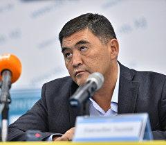 Ата-Журт партиясынын лидери Камчыбек Ташиевдин архивдик сүрөтү