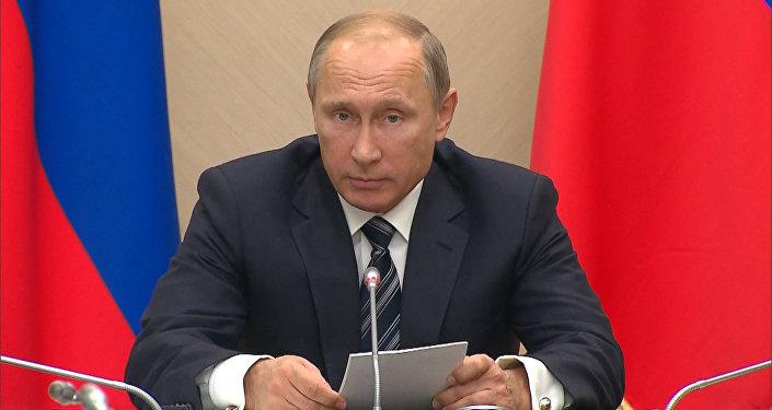 Действовать на упреждение - Путин об использовании ВВС РФ против ИГ в Сирии