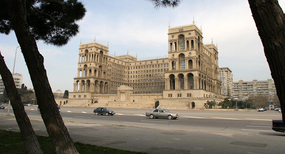 Дом правительства Азербайджана в г.Баку. Архивное фото